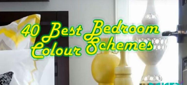 ویدیو :40 نمونه از بهترین تم های رنگی در دکوراسیون اتاق خواب