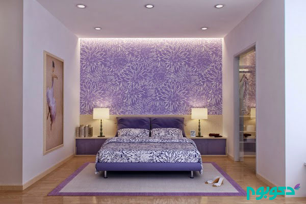 Purple Paint For Bedroom