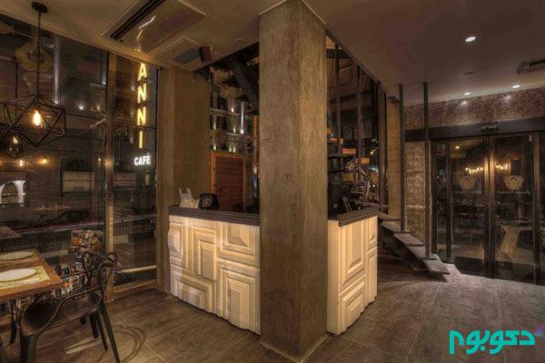 طراحی داخلی رستوران Giovanni در تهران