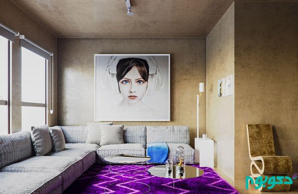 تاثیر هنر نقاشی در دکوراسیون منزل