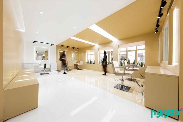 دکوراسیون داخلی سالن زیبایی شُکرنیا در تهران
