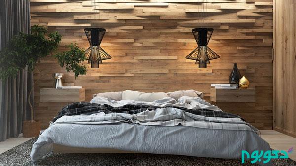 طرح های هنرمندانه پانل های سه بعدی چوبی
