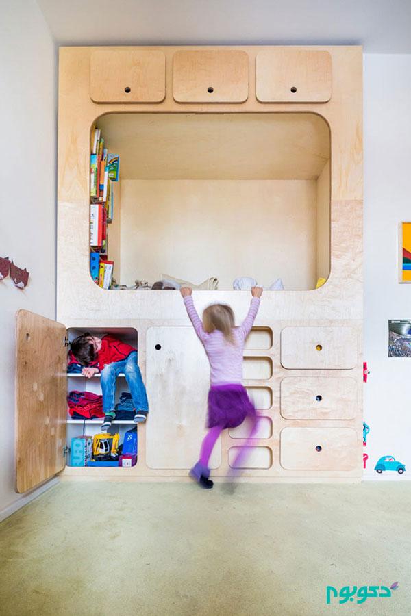 ایده متفاوت برای طراحی اتاق خواب کودک