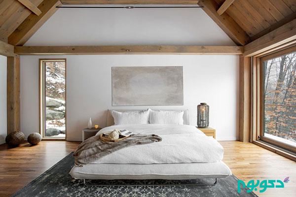 ایده های طراحی اتاق خواب با ترکیب رنگ های خنثی