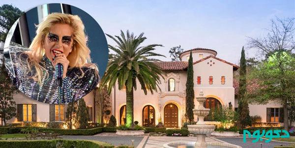 دکوراسیون منزل افراد مشهور: لیدی گاگا