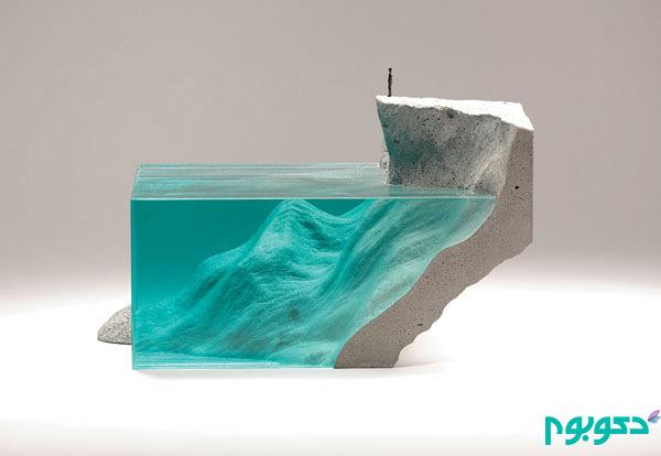 مجسمه های هیجان انگیز با طراحی دریایی