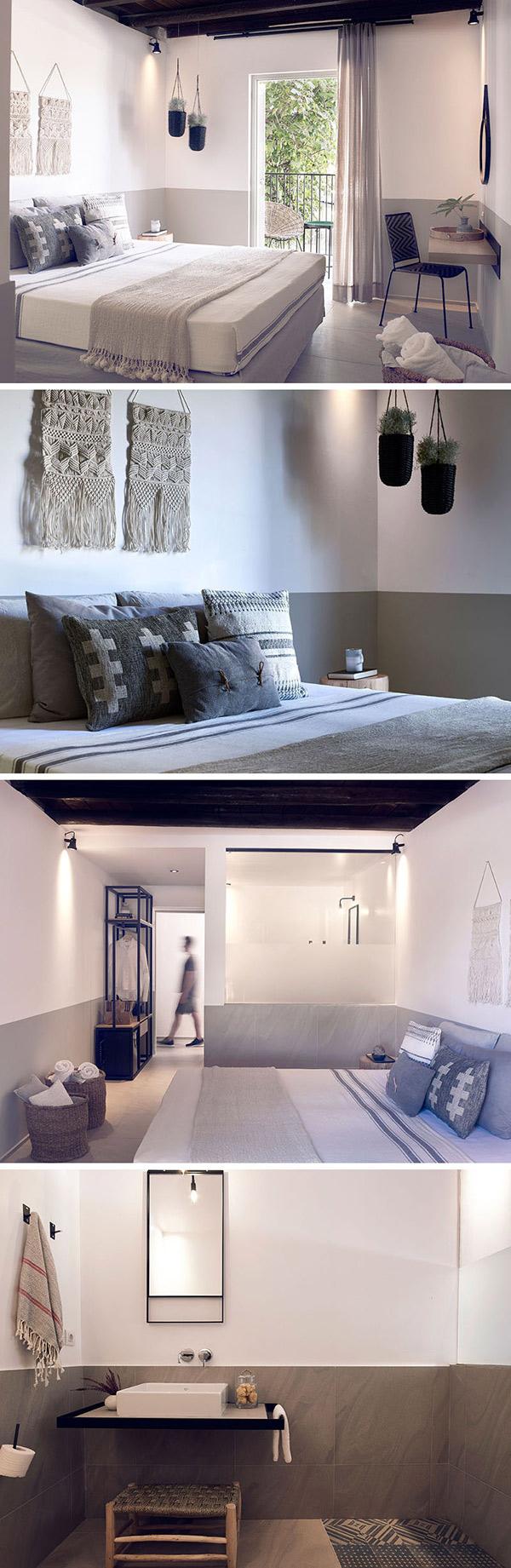 تقابل دو سبک روستیک و معاصر در طراحی داخلی این هتل