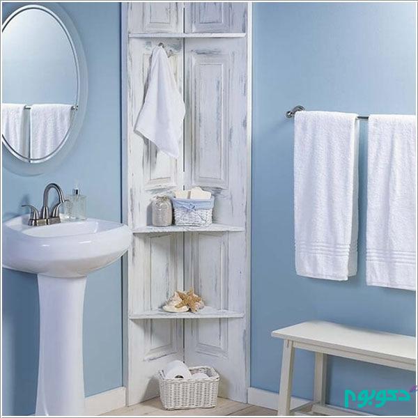 ایده های دست ساز و جالب دکوراسیون حمام