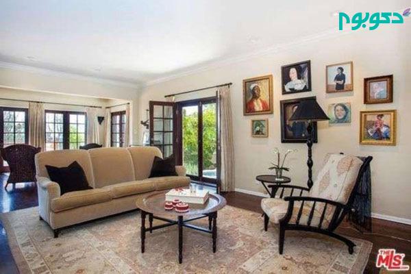 دکوراسیون منزل افراد مشهور: اشلی تیزدیل