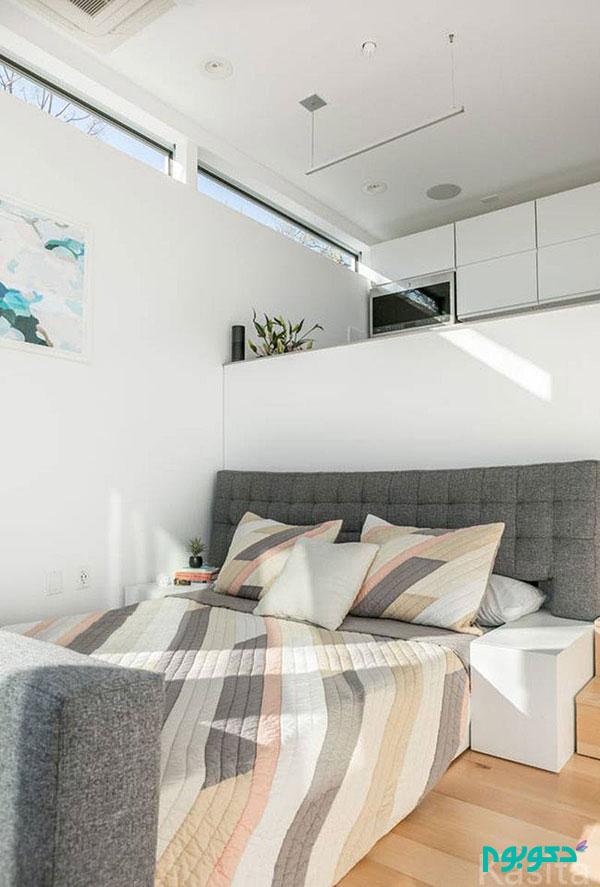 ایده هایی برای فضاهای کوچک- طراحی داخلی خانه ای مدرن