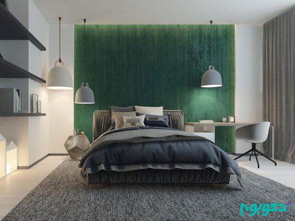 لامپ های روشنایی زیبا در دکوراسیون اتاق خواب