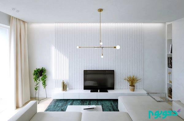 رنگ های آرامش بخش در دکوراسیون آپارتمان تک خوابه – قسمت اول