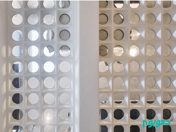 کف شیشه ای منحصر به فرد در دکوراسیون خانه دوبلکس