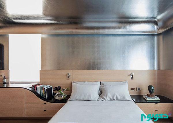 دکوراسیون منزل با چوب و آلومینیوم