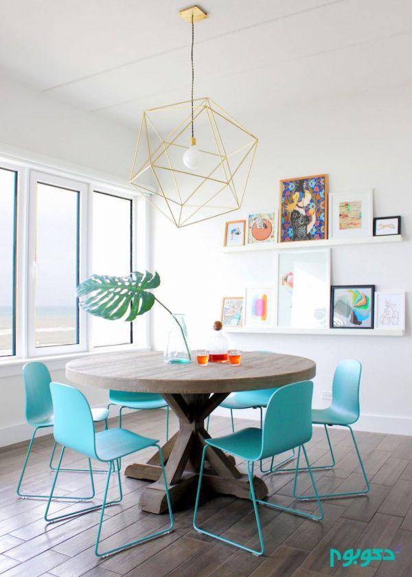 50 میز و صندلی غذاخوری مدرن و شیک