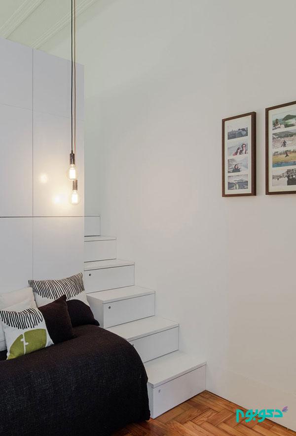مبلمان چند منظوره ایده ای هوشمندانه برای خانه های کوچک