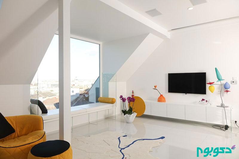 بازسازی آپارتمانی جذاب در بوداپست