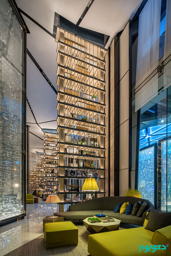 27 تصویر از معماری داخلی هتلی مدرن و لوکس در چین