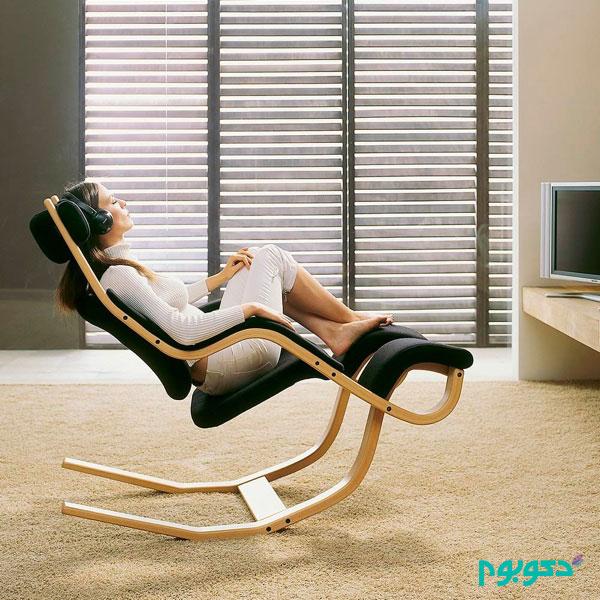 آنچه برای راحتی نیاز است در یک صندلی !