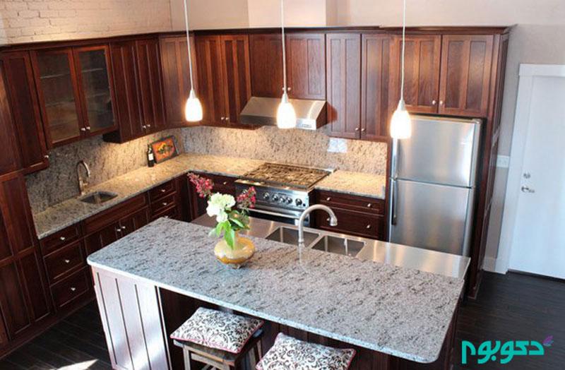 صفحات گرانیتی در دکوراسیون آشپزخانه
