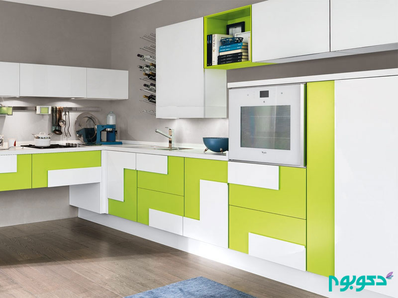 آشپزخانه مدرن و الهام بخش
