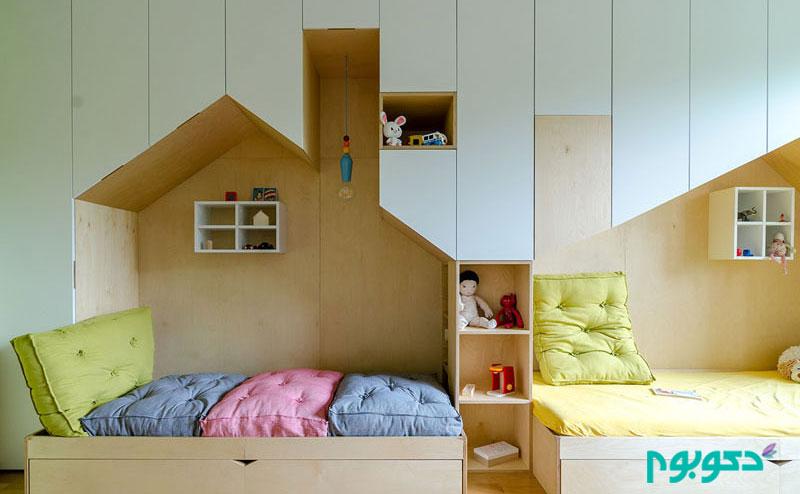 مبلمان مدرن، ترکیبی و سفارشی اتاق کودک