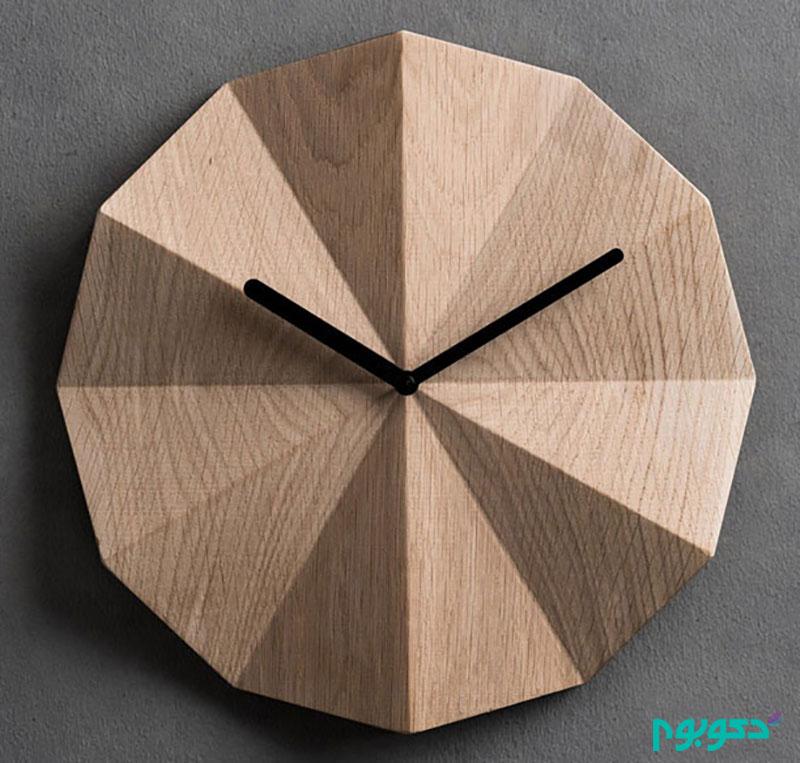 ساعت های دیواری مدرن و چوبی