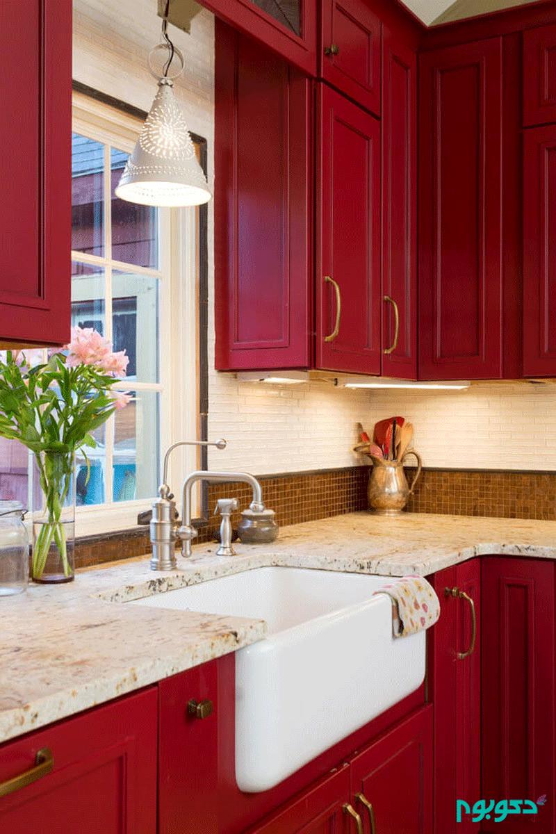 چگونه رنگ کابینت را در دکوراسیون آشپزخانه انتخاب کنیم؟