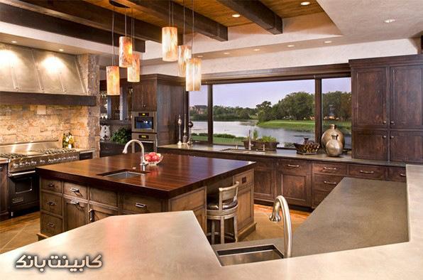 آشپزخانه خاص   آشپزخانه بزرگ   جزیره آشپزخانه خاص