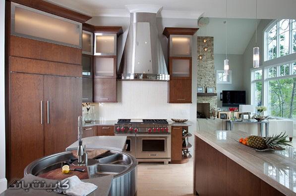 آشپزخانه خاص   سینک خاص   ظرفشویی خاص