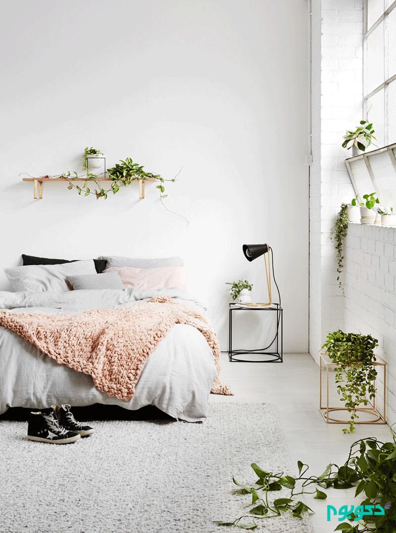 30 اتاق خواب مدرن به رنگ سفید