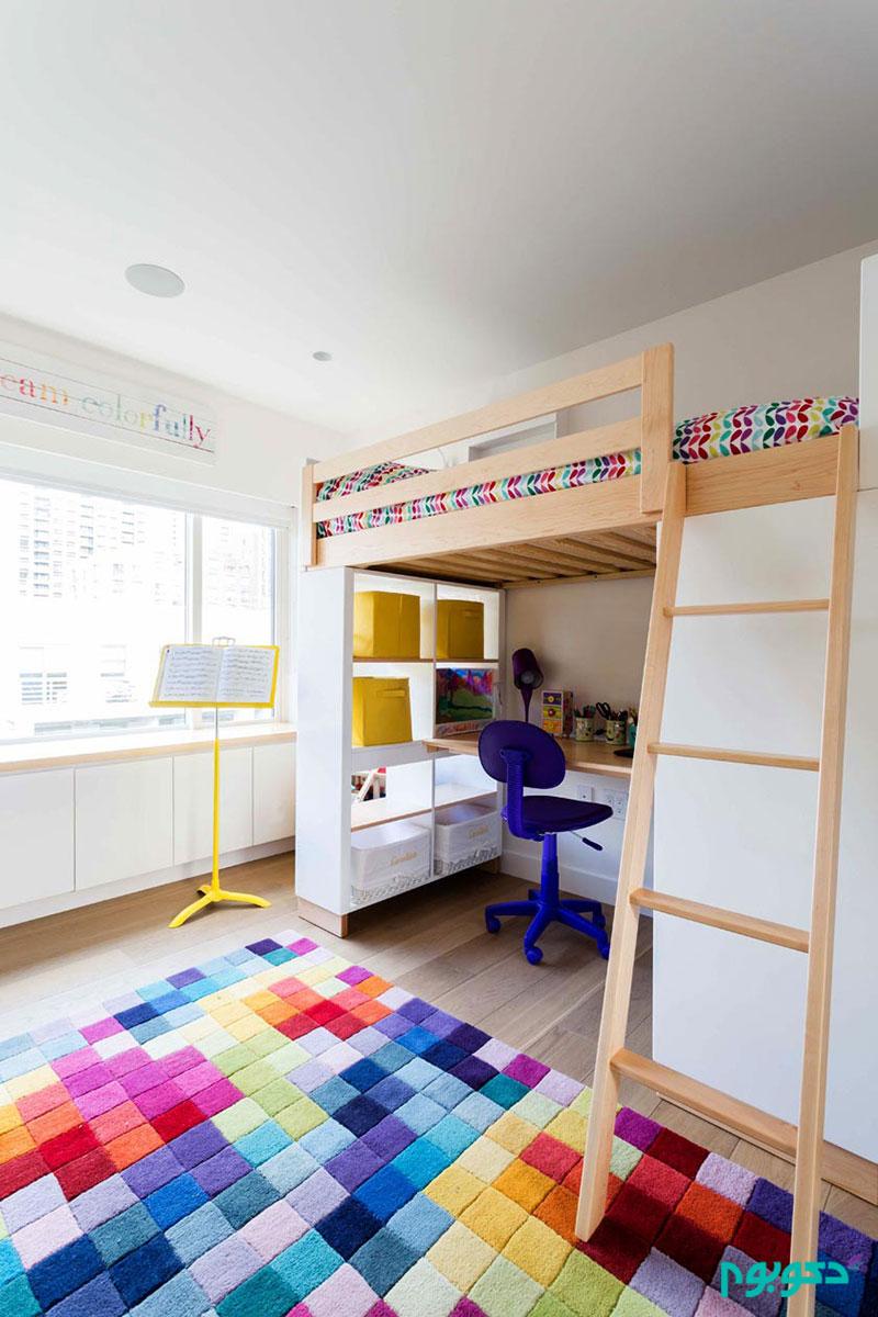 دکوراسیون داخلی 20 اتاق خواب نوجوان دخترانه دکوراسیون