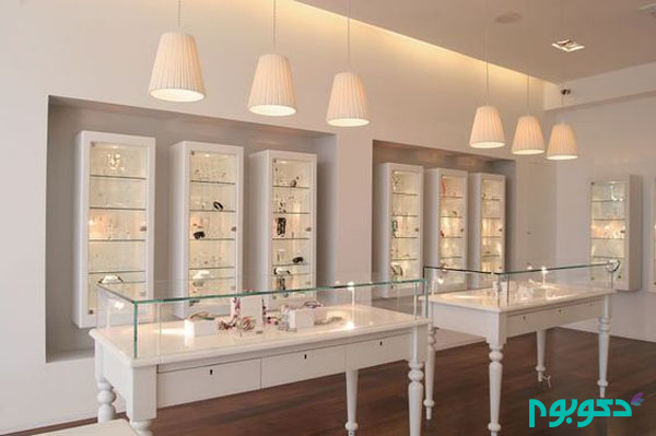 Cosmetic store interior design ideas