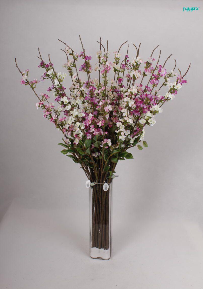 مدل گلدان بزرگ با گل مصنوعی