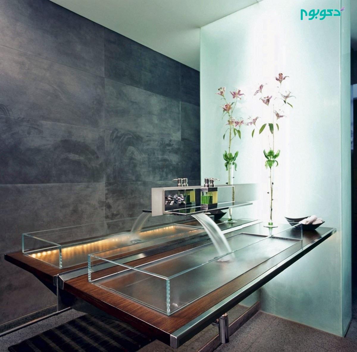 ۴۰ ایده شگفت انگیزو مدرن برای دکوراسیون داخلی حمام