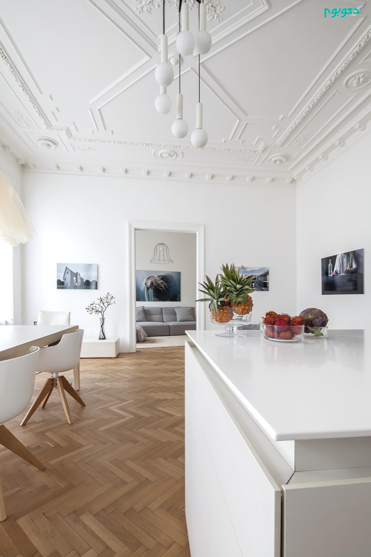 دکوراسیون داخلی مدرن آپارتمان 120 متری