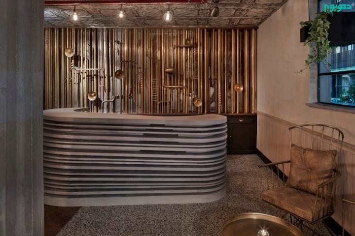 طراحی هتل با الهام گیری از گذشته صنعتی آن منطقه