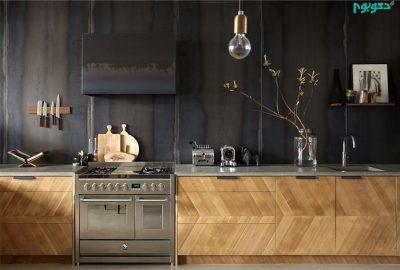 رنگ تیره در دکوراسیون آشپزخانه