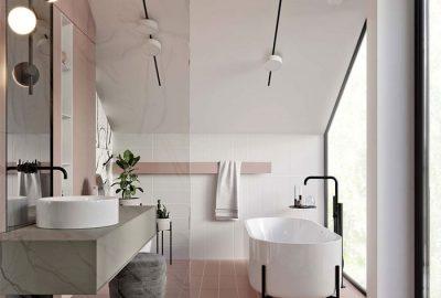 طراحی و چیدمان حمام