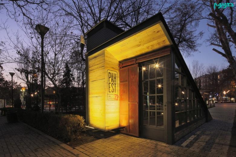 دکوراسیون داخلی رستوران