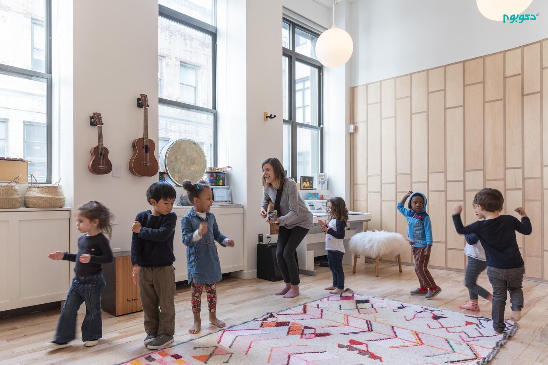 طراحی داخلی مدرسه ای با رویکرد یادگیری تعاملی