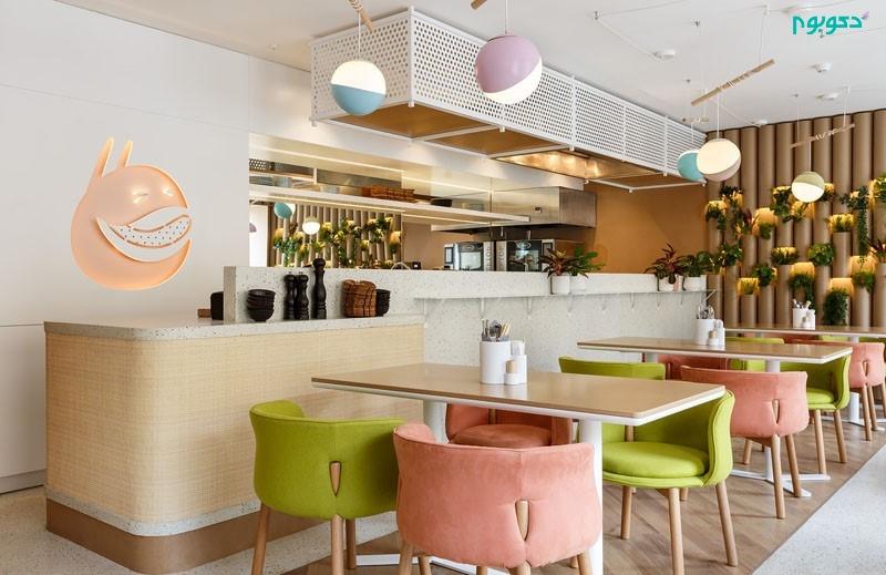 طراحی داخلی رستورانی منحصر به فرد در روسیه