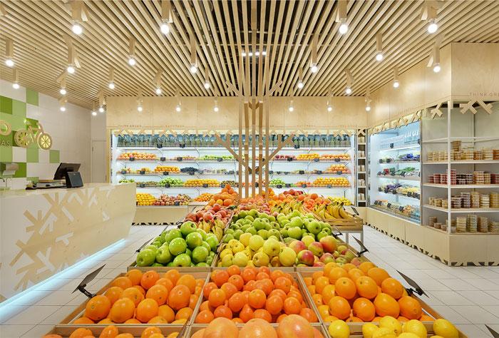 چیدمان میوه فروشی
