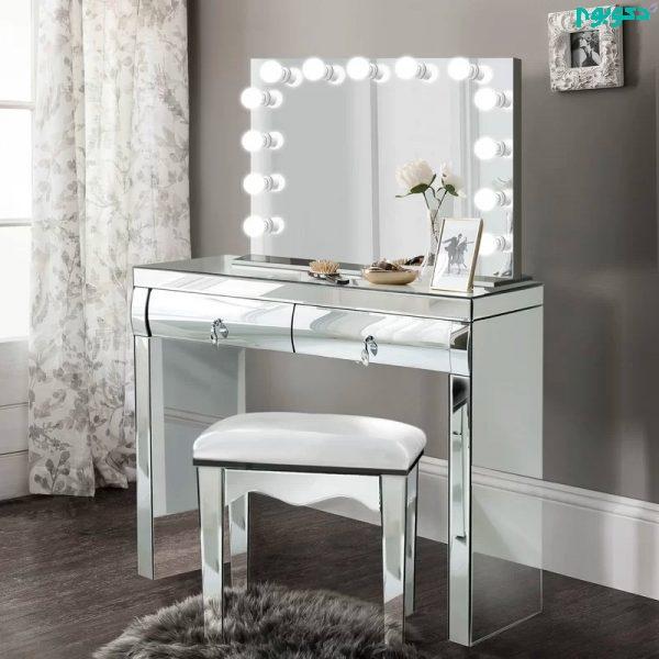 نور در میز آرایش