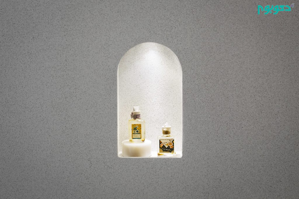 طراحی داخلی فروشگاه تونلی محصولات بهداشتی