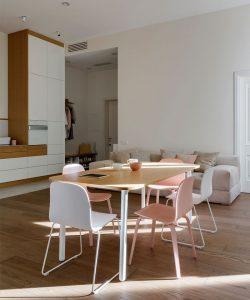 طراحی داخلی و بازسازی آپارتمانی کاربردی و زیبا