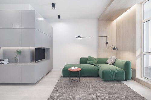 دیزاین دکوراسیون خانه به سبک مینیمال در شرکت طراحی معماری دکوبوم