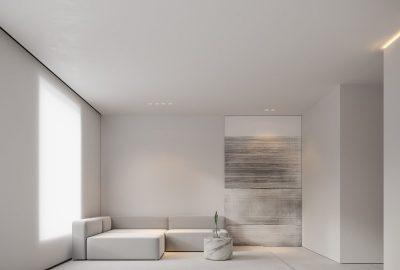 دیزاین دکوراسیون خانه به سبک مینیمال در شرکت طراحی معماری و دکوراسیون داخلی دکوبوم