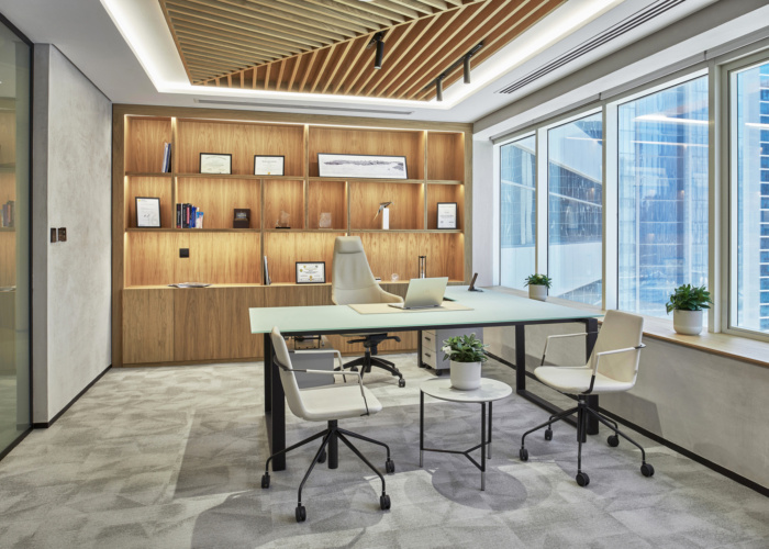 اتاق مدیریت  شرکت معماری
