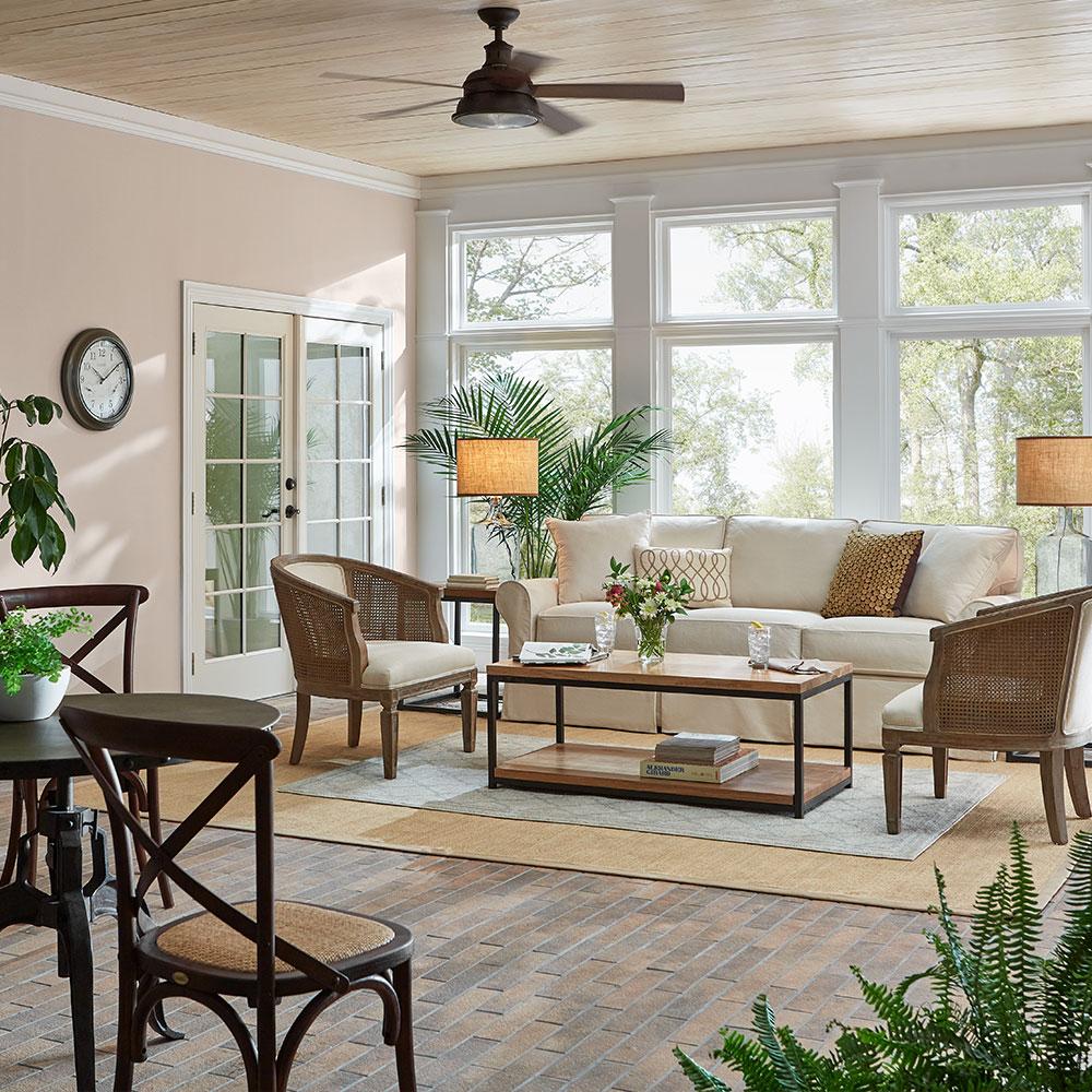 عناصر طبیعی در طراحی داخلی مدرن خانه